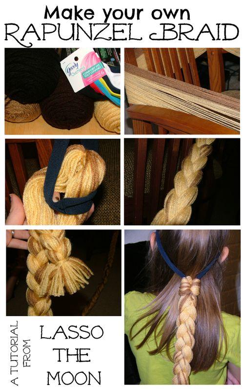 Rapunzel braid tute