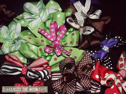 Handmade hairbows