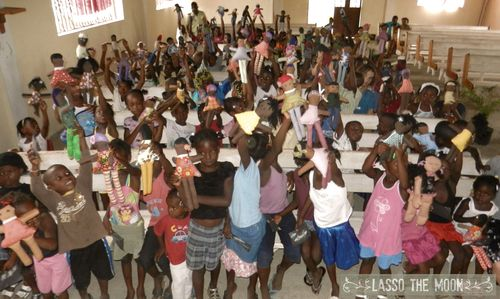 Big group dollies haiti