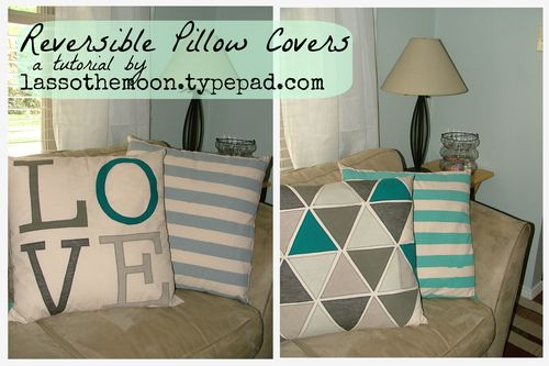Canvas pillows title