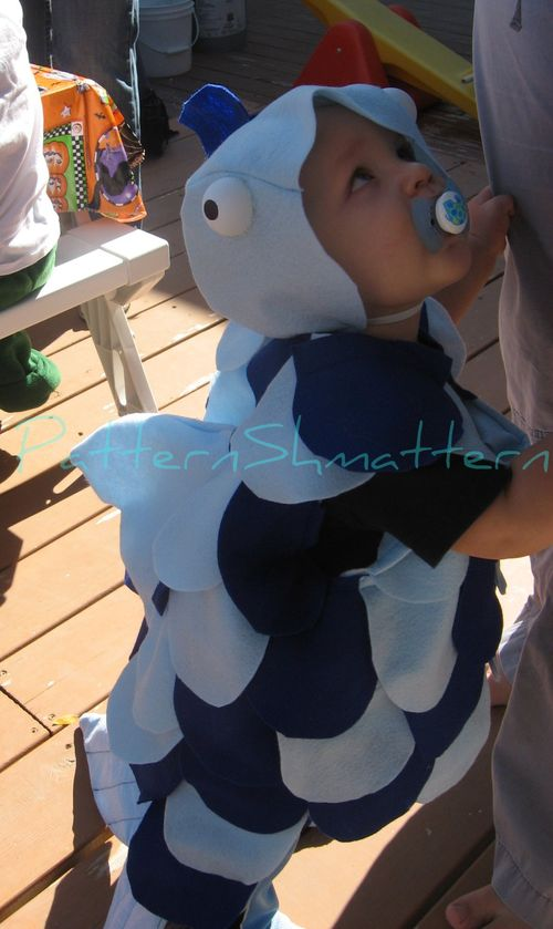 Fish costume 3 side