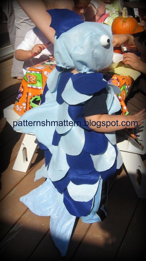 Fish costume 5 back