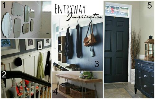 Entryway Collage