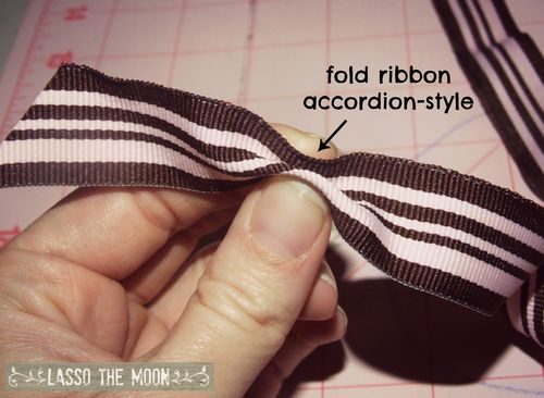 First fold hairbow