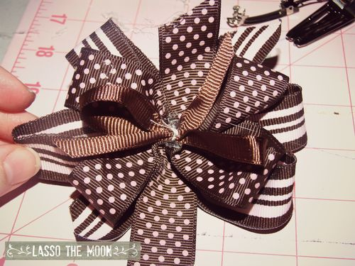 Three layer hairbow