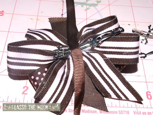 Final piece of ribbon