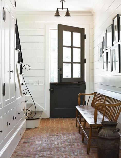 Entryway Paint The Front Door Black Lasso The Moon