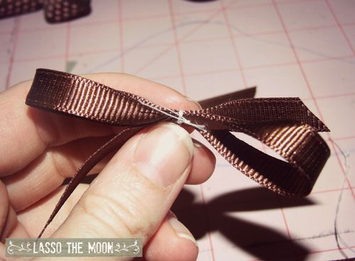 Making hairbows