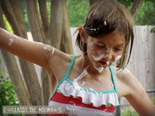 Sprinklers and shaving cream7