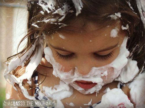 Sprinklers and shaving cream12