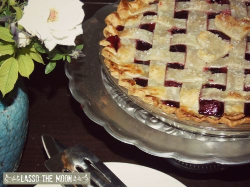 Not from scratch cherry pie