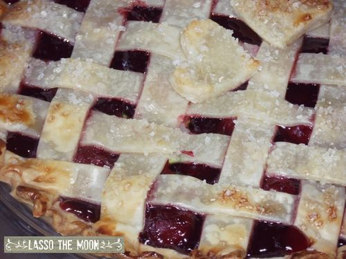 Not from scratch cherry pie2