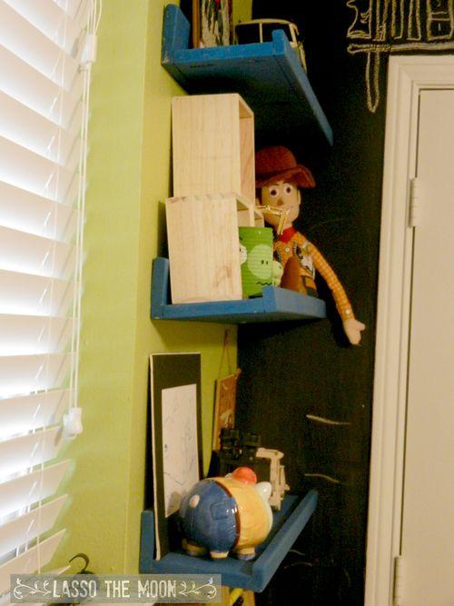 Display shelves3