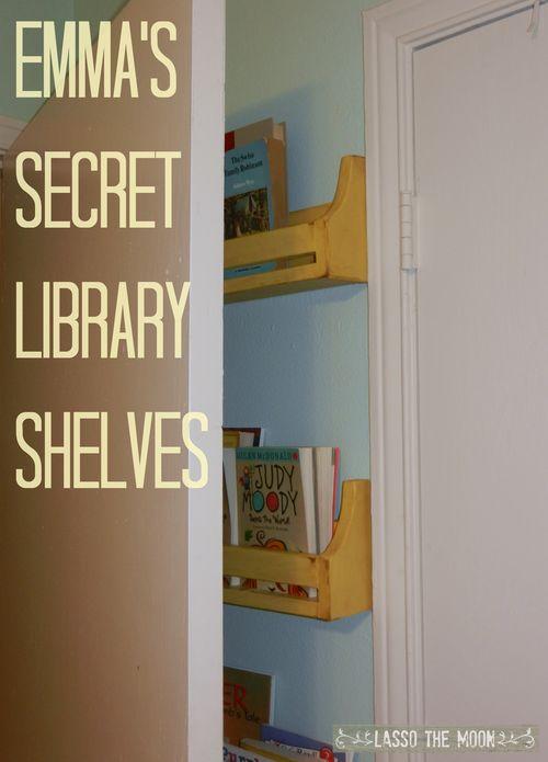 Bookshelves title