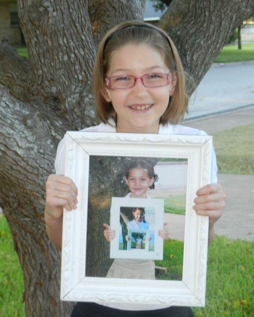 Frame within a frame 3rd grade