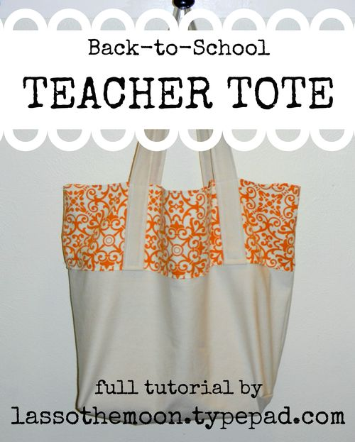Tote tutorial title