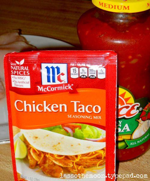 Shredded chicken tacos2