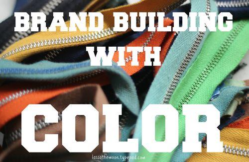 Brand color title