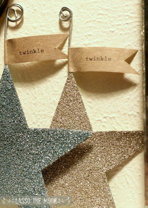 Glitter stars