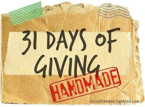 Giving handmade