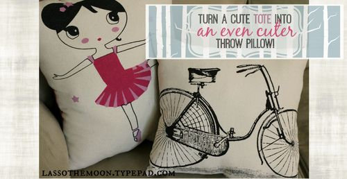 Totebag pillow fb