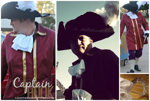 Captain hook costume diy