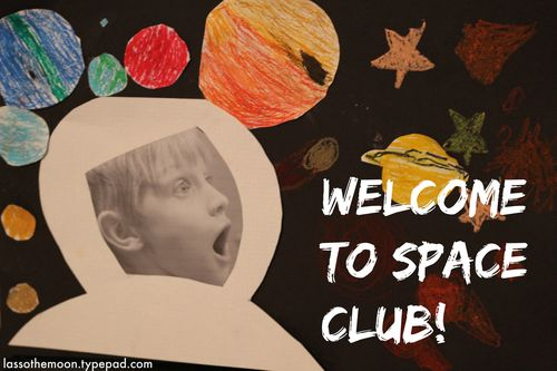 Welcome to space club