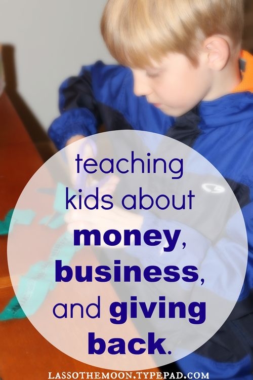 Teaching kids money