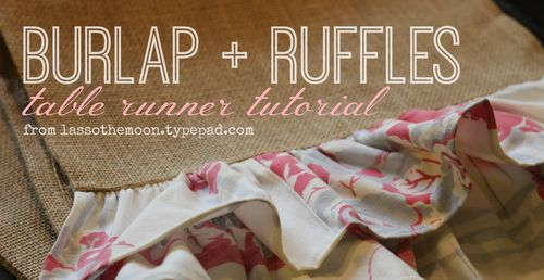 Burlap and ruffles fb