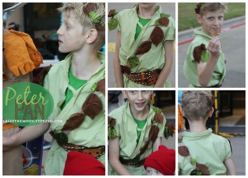 Peterpan costume diy