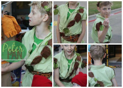 Peterpan costume diy