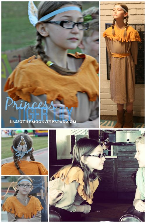 Tiger lily costume diy
