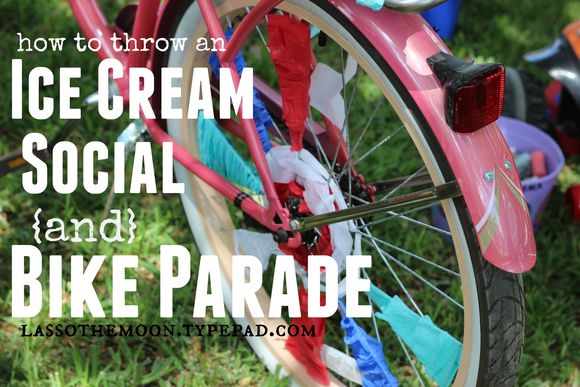 Block parties are the stuff community is made from ice cream social and bike parade 4th of july