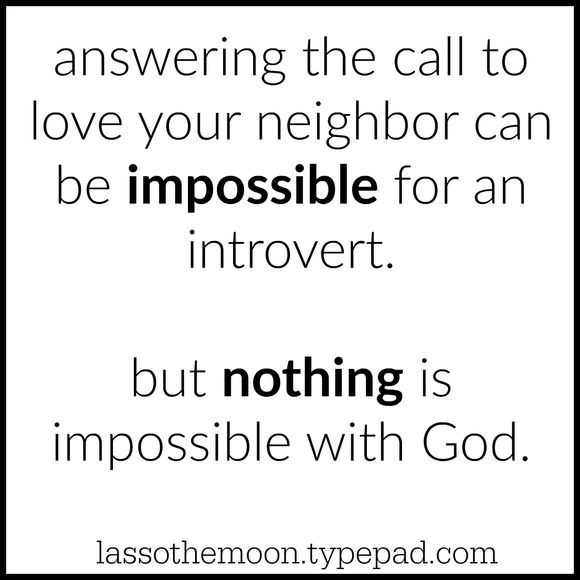 Introverts and god